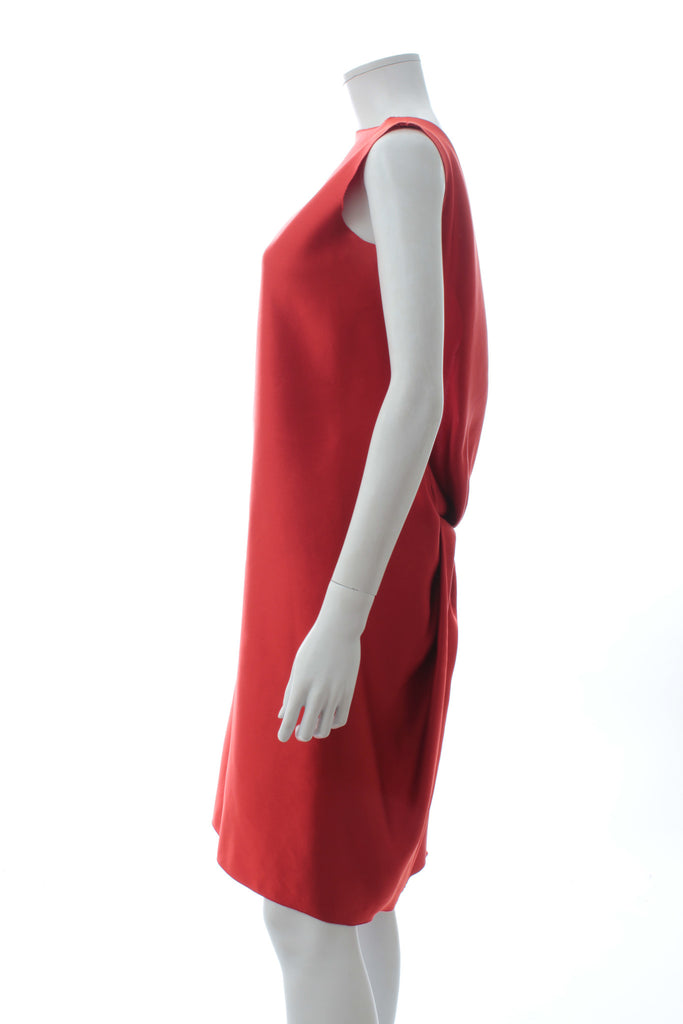Lanvin Sleeveless Draped Silk Dress, Dresses, Lanvin, Closet Upgrade - Closet-Upgrade