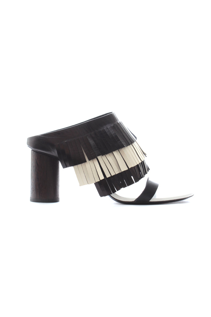 Proenza Schouler Fringed Leather Sandals