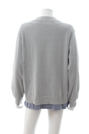 Acne Studios 'Mysti' Lurex Knit Sweater