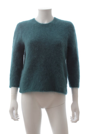 Carven Angora-Blend Knit Sweater