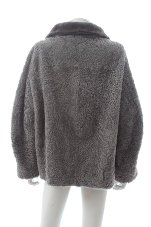 Maison Ullens Reversible Lamb Shearling Coat