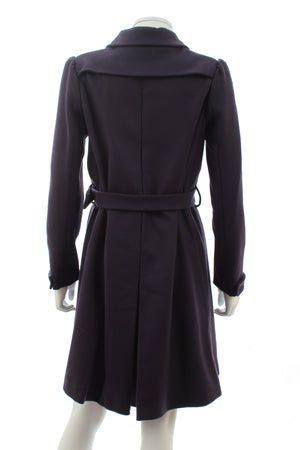 Miu Miu Wool-Blend Belted Coat