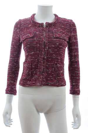 Isabel Marant Etoile 'Ariana' Knitted Cotton-Blend Jacket