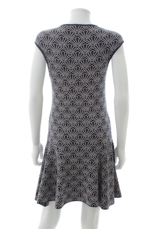 Markus Lupfer Printed Jersey-Knit Dress