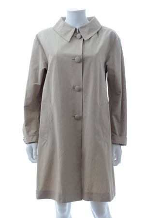 Prada Cotton-Blend Trench Coat
