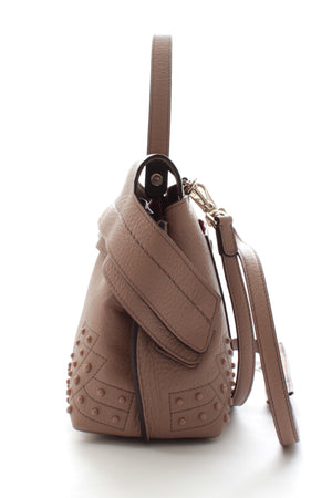 Tod's Mini Wave Bag in Nude Pink