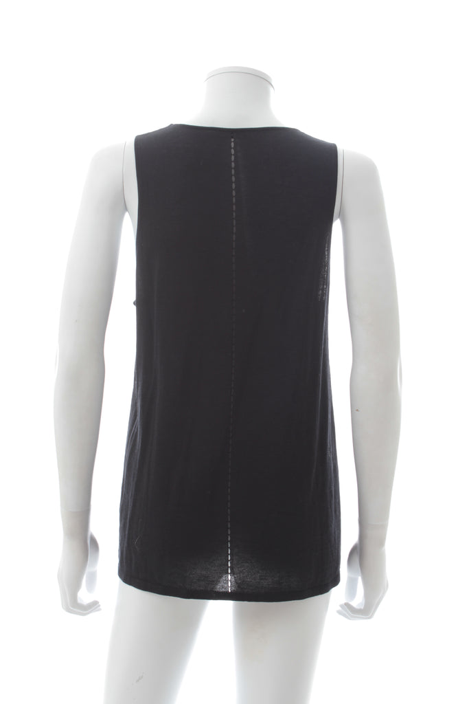 T by Alexander Wang Cut Out Knit Tank