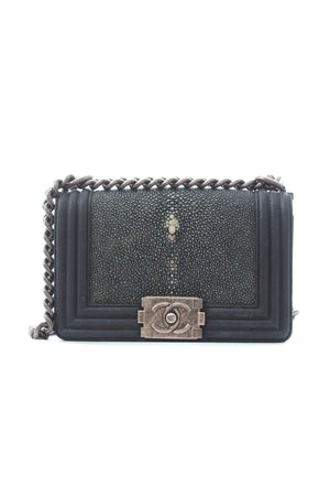 Chanel Small Stingray Boy Bag