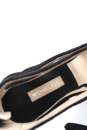 Michael Kors Collection 'Arissa' Suede Strap Pumps