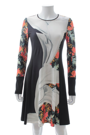 Clover Canyon Lady Wilde Printed Jersey Dress