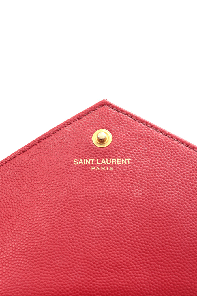 Saint Laurent Monogram Chain Wallet Bag in Matelasse Leather, Women's Handbags, Saint Laurent, Closet Upgrade - Closet-Upgrade