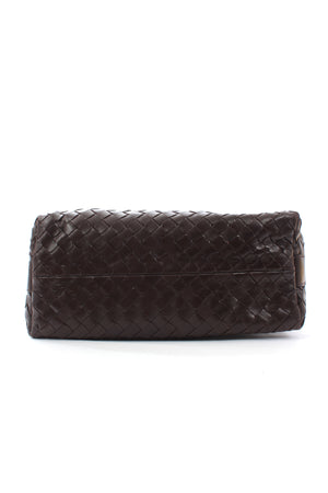 Bottega Veneta Intrecciato Leather Pouch Bag