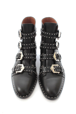 Givenchy 'Prue' Studded Buckle Ankle Boots