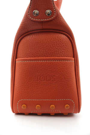 Tod's Micky Leather Shoulder Bag