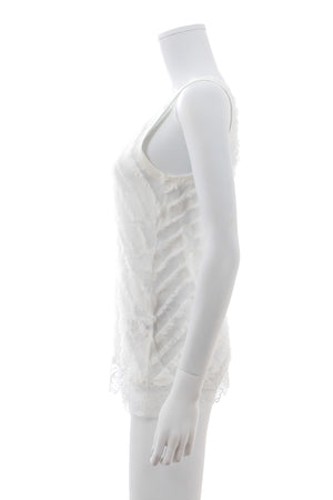 Faith Connexion Fringed Lace Top