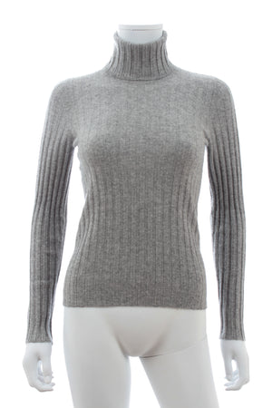 Brunello Cucinelli Ribbed Cashmere Roll-Neck Sweater