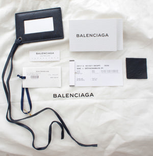 Balenciaga Classic City S Bag - Marine/Bordeaux Stripes