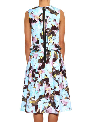 Erdem 'Muriel' Te Pari-Print Cotton Dress