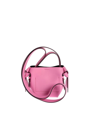 Acne Musubi Micro Knotted Leather Shoulder Bag