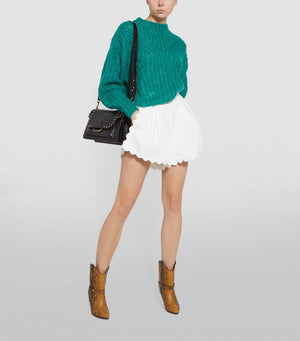 Isabel Marant Inko Pointelle Mohair-Blend Sweater - Resort 2020 Collection