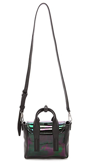 3.1 Phillip Lim Pashli Mini Iridescent Patent Leather Satchel