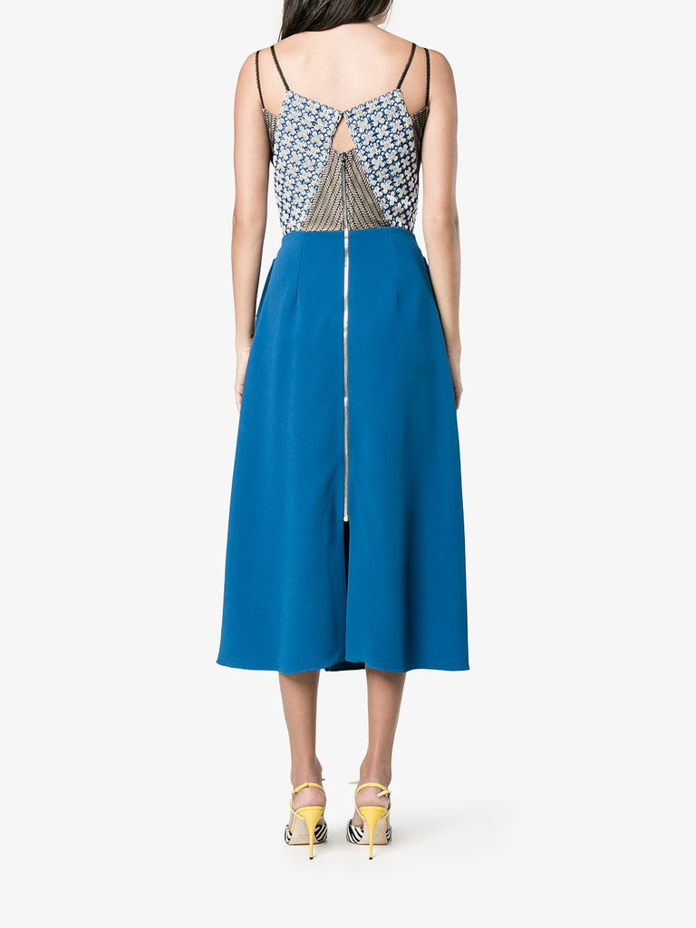 Roland Mouret 'Kao' Chevron Lace Dress (Runway Collection)
