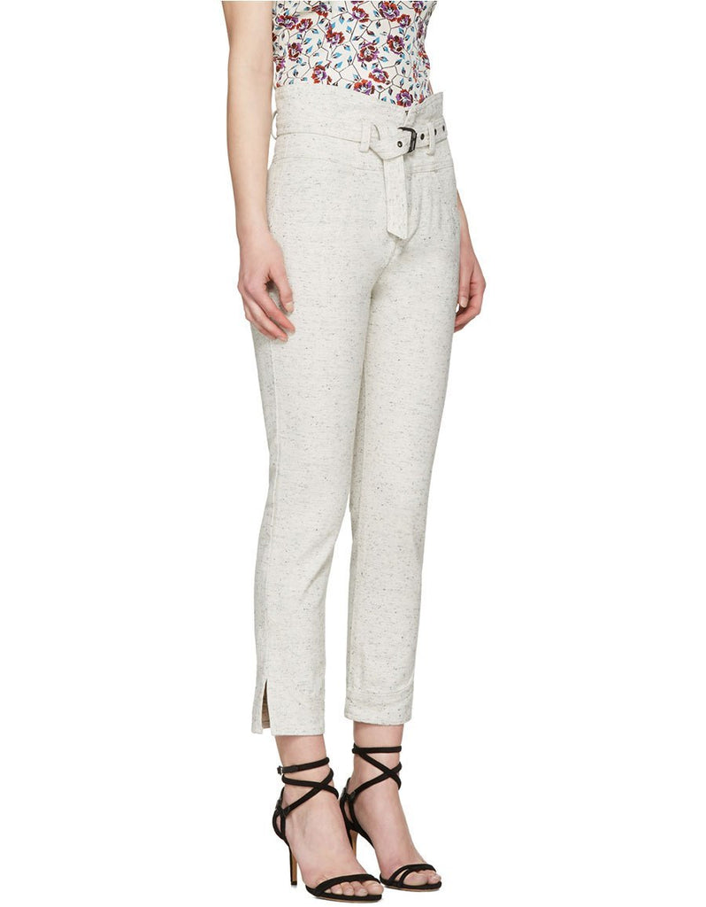 Isabel Marant 'Evera' Belted High-Rise Jeans