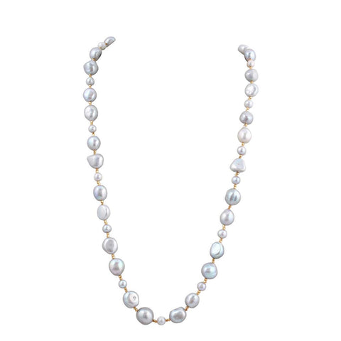 Baroque Pearl Beaded Luxury Necklace