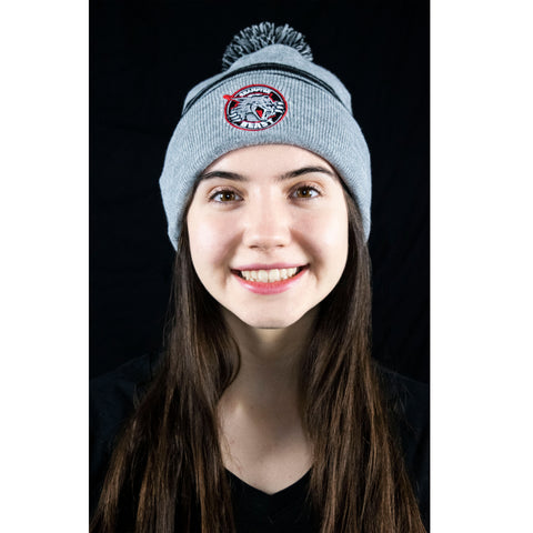 Grey Beast Hockey Toque