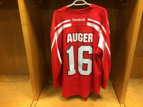 2016-17 Brampton Beast ECHL Warm-Up Jersey #16 Chris Auger (Autographed)