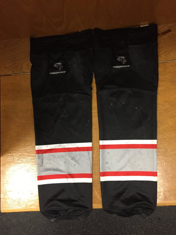 Brampton Beast ECHL Game-Worn Player Socks