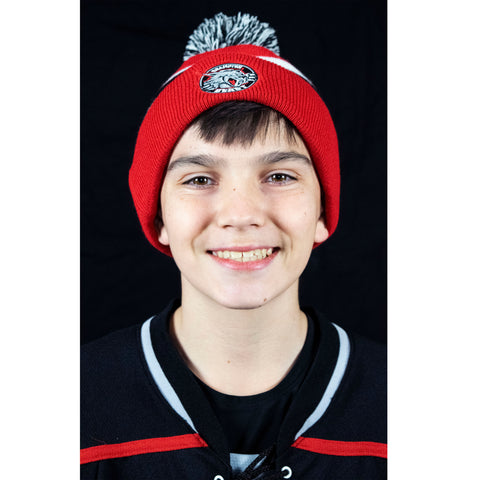 Red Beast Hockey Toque