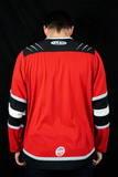 Unisex Customizable Beast Game Issued Jersey Red