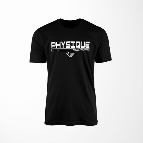 Physique Evolution Frame Shirt - Black - Physique Evolution - Fitness - Gymwear - livefit