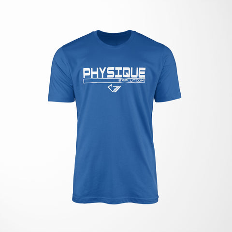 Physique Evolution Frame Shirt - True Royal - Physique Evolution - Fitness - Gymwear - livefit
