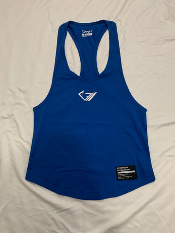 PQEV Original Stringer - Egyptian Blue - Physique Evolution - Fitness - Gymwear - livefit