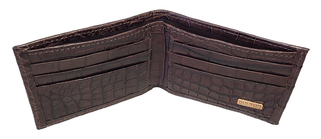 Alligator Bifold Wallet