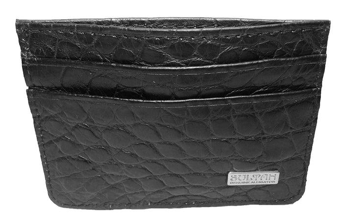 Alligator Slim Card Wallet