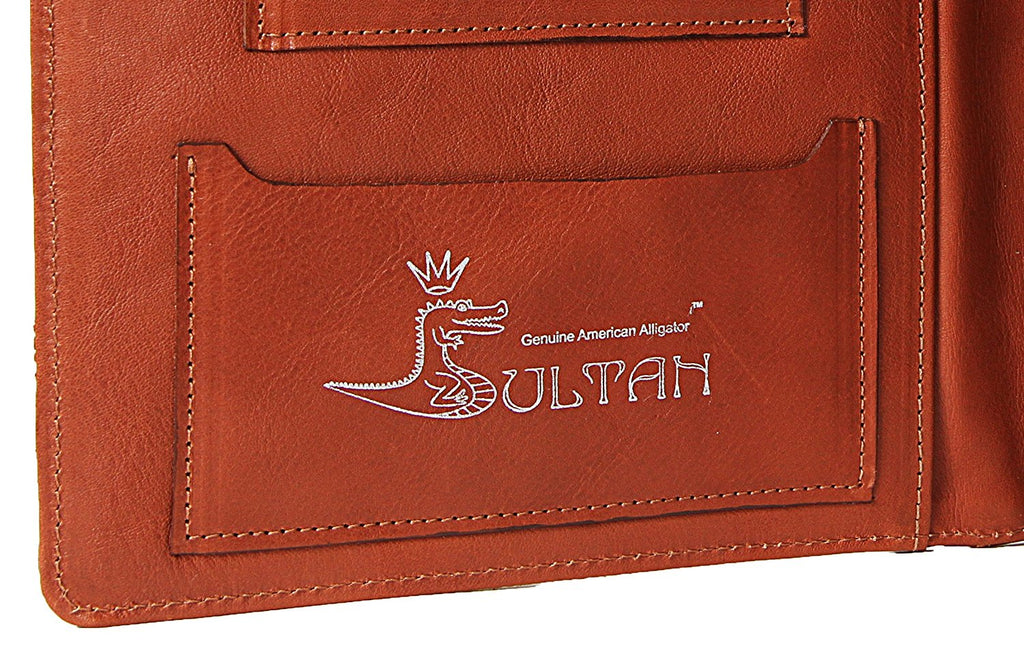 Alligator Case for New Apple iPad (3) and iPad 2 (Cognac)