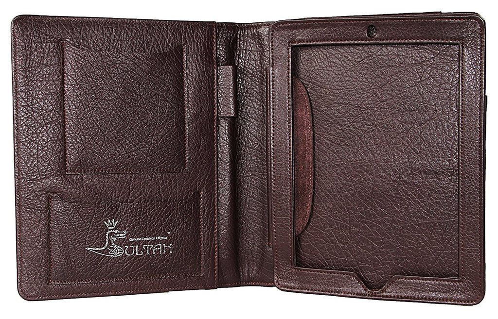 Alligator Case for Apple iPad 2 (Brown)