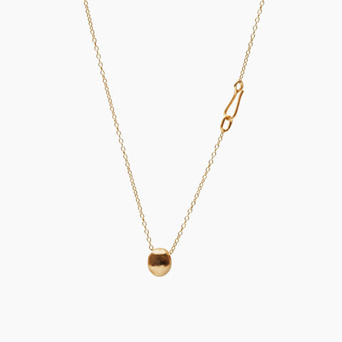 GOLD LUMP S Gold Plated Pendant