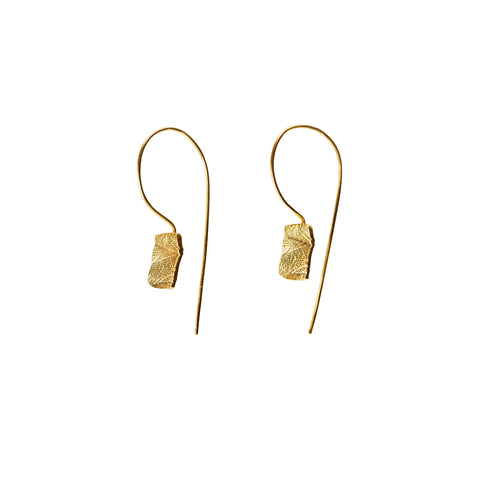 COMPASSION Gold Plated Earrings
