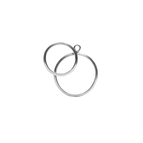 O Collection Sterling Silver Earring