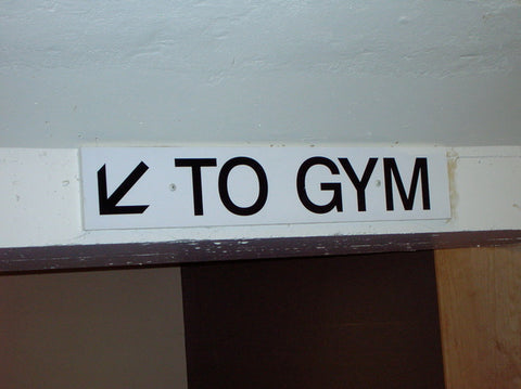 go to the gym now