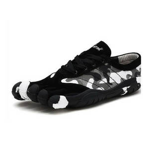 Camouflage Skeletoes Shoes - Black