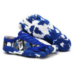 Camouflage Skeletoes Shoes - Blue