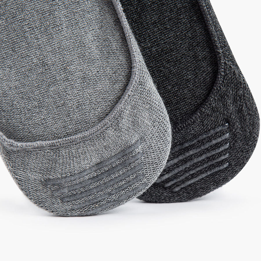 Non-Slip Invisible Toe Socks