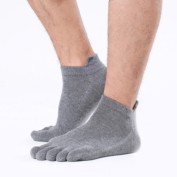 Heel Support Toe Socks - 3 Pack