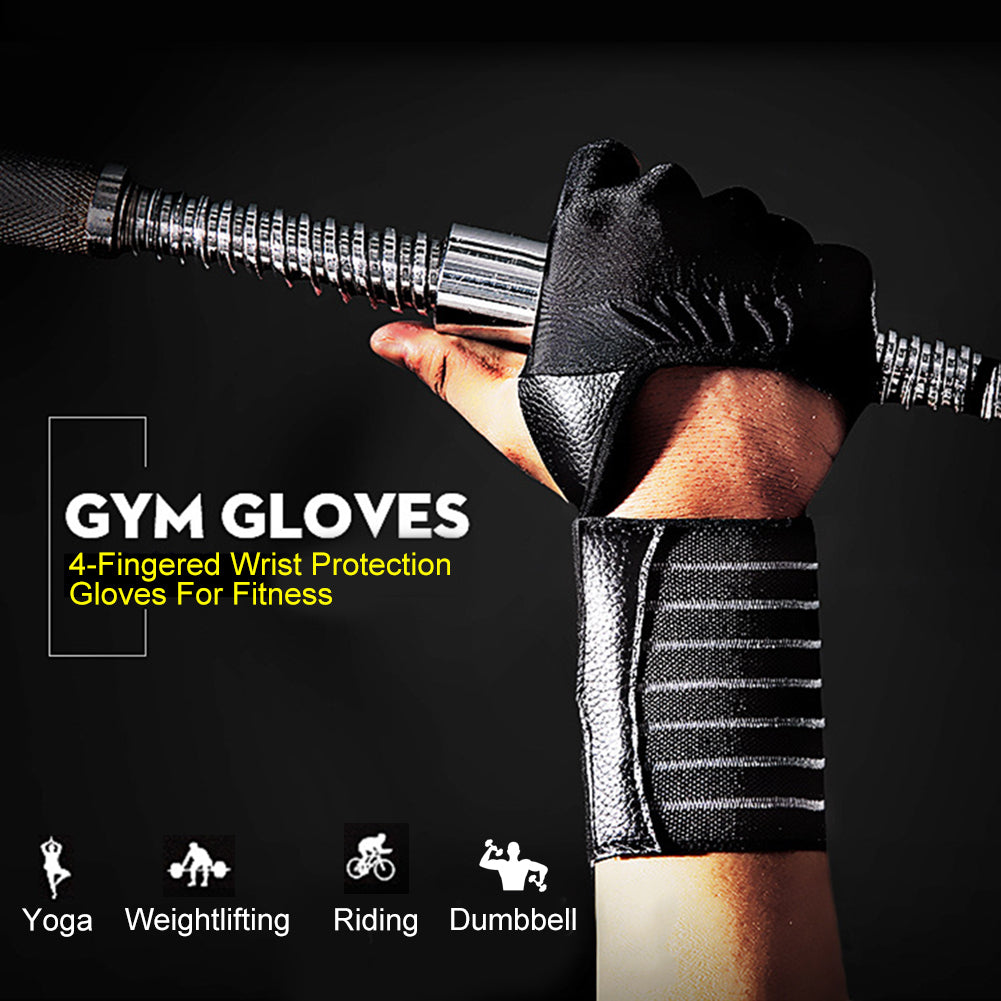 Weight Lifting Gloves with Max Wrist Support