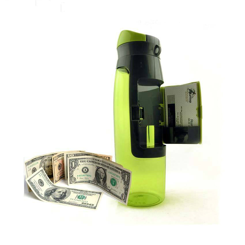 Wallet Water Bottle